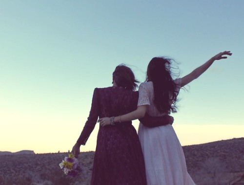 casamento duas meninas